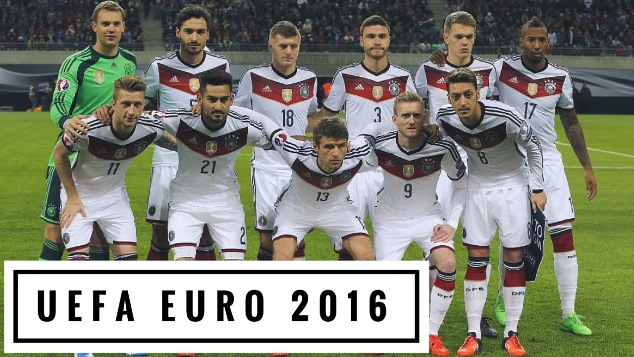 germany die mannschaft euro 2016 team profile hd youtube. Black Bedroom Furniture Sets. Home Design Ideas