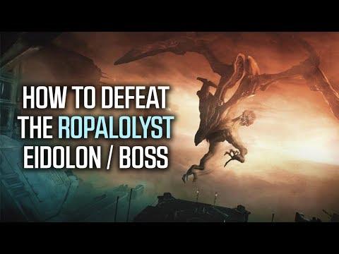 How To DEFEAT The ROPALOLYST! | Flying Eidolon Boss Fight
