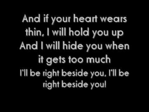 Beside You - Marianas Trench Lyrics