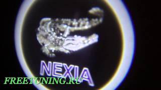 Проекция логотипа сделанная специально для Максима Гаврилова. Freetuning.ru