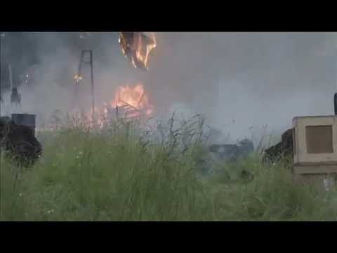 Explosion for Leverage Season 5 Television Series | Front View