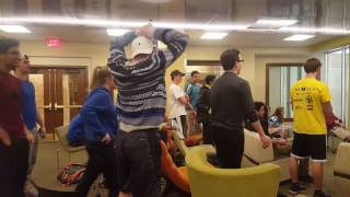 Reaction to Cubs W.S. Title at University of Michigan