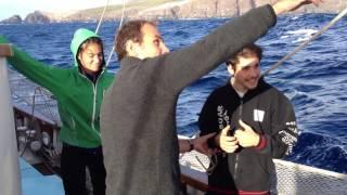 Jeunes en mer