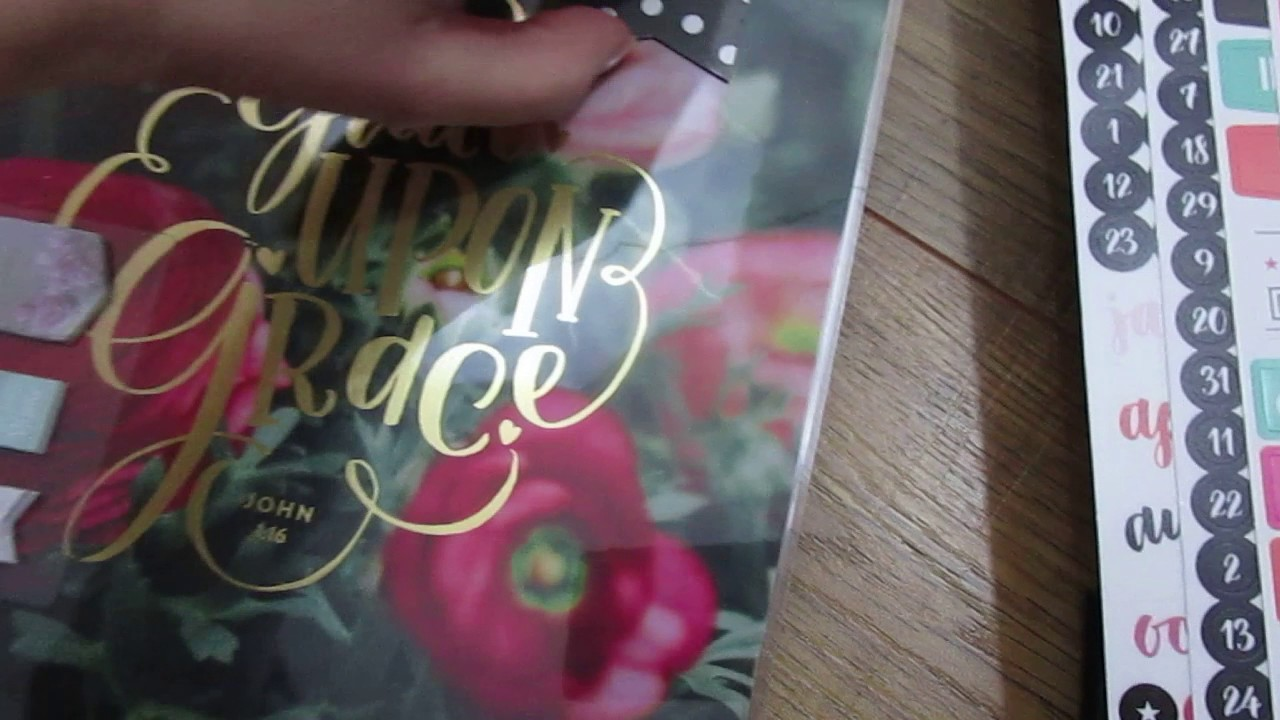 Mambi happy planner unboxing faith edition