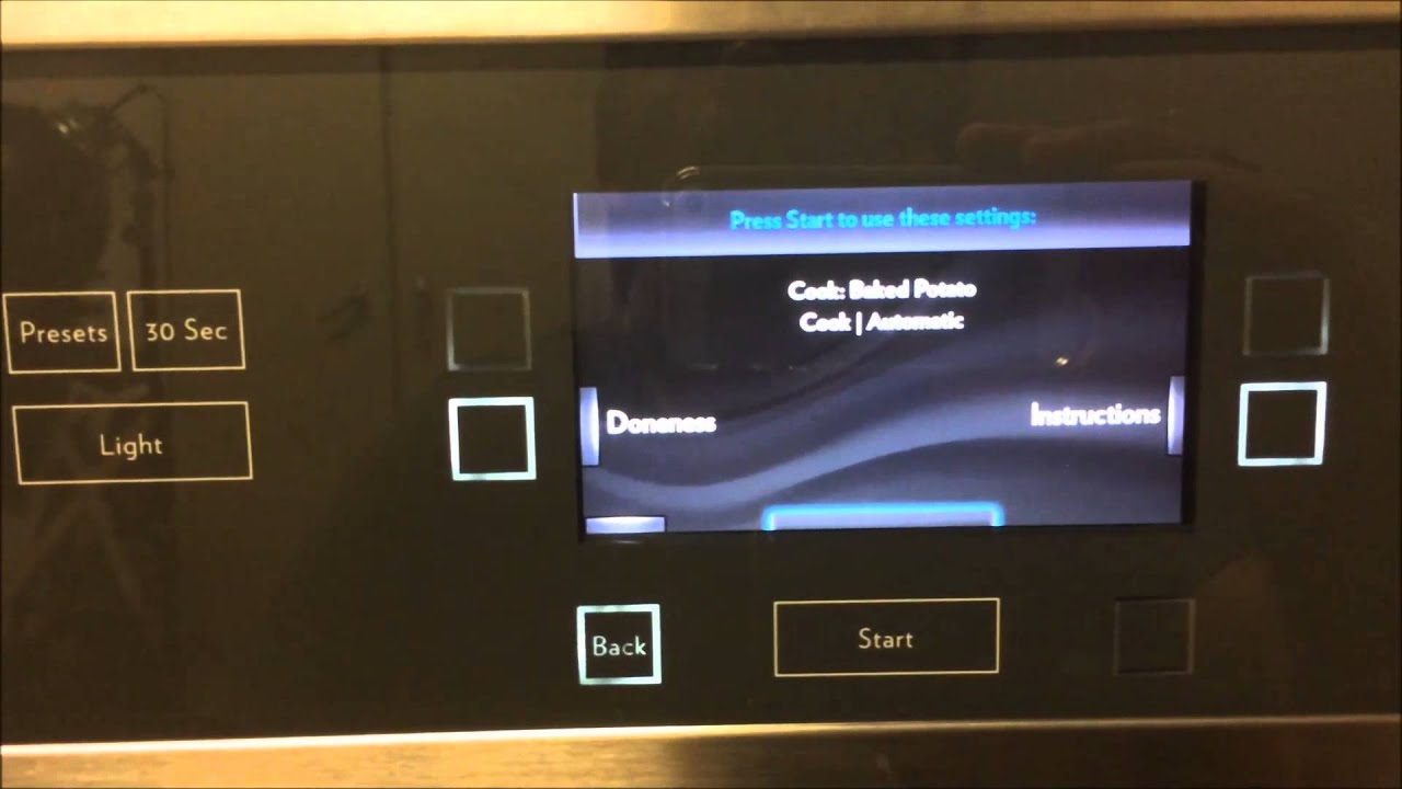 Jenn Air Double Oven For Microwave Convection Combo Video