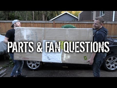 Budget Lotus Evora Pt 15 - Unboxing Parts & Answering Fan Questions