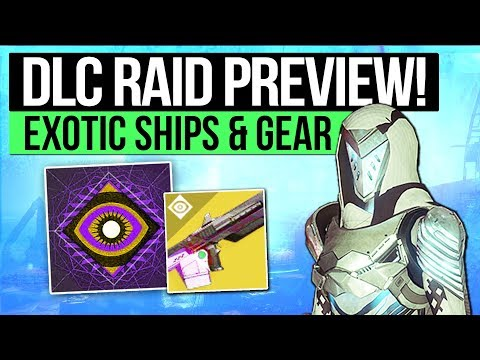 Destiny 2 | OSIRIS RAID LAIR GAMEPLAY! - Launch Trailer, New Exotic Ships & Jade Rabbit Ornament!