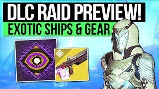Destiny 2 | OSIRIS RAID LAIR TEASER! - New Launch Trailer, New Exotic Ships & Jade Rabbit Ornament!