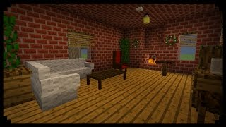 """Furniture Mod"" On Minecraft / MOD SHOWCASE / House Design"