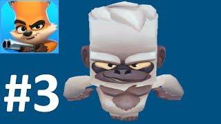zooba #3 НОВАЯ МОБИЛЬНАЯ ИГРА (Zoo Battle Arena) видео для детей в стиле Brawl Stars + Battle Royale