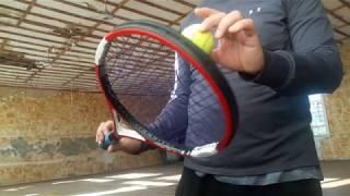 Финты большого тенниса замедленно в 4 раза