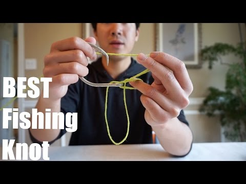 How to Tie a Perfect Palomar Knot - Best All-Around Fishing  Knot!
