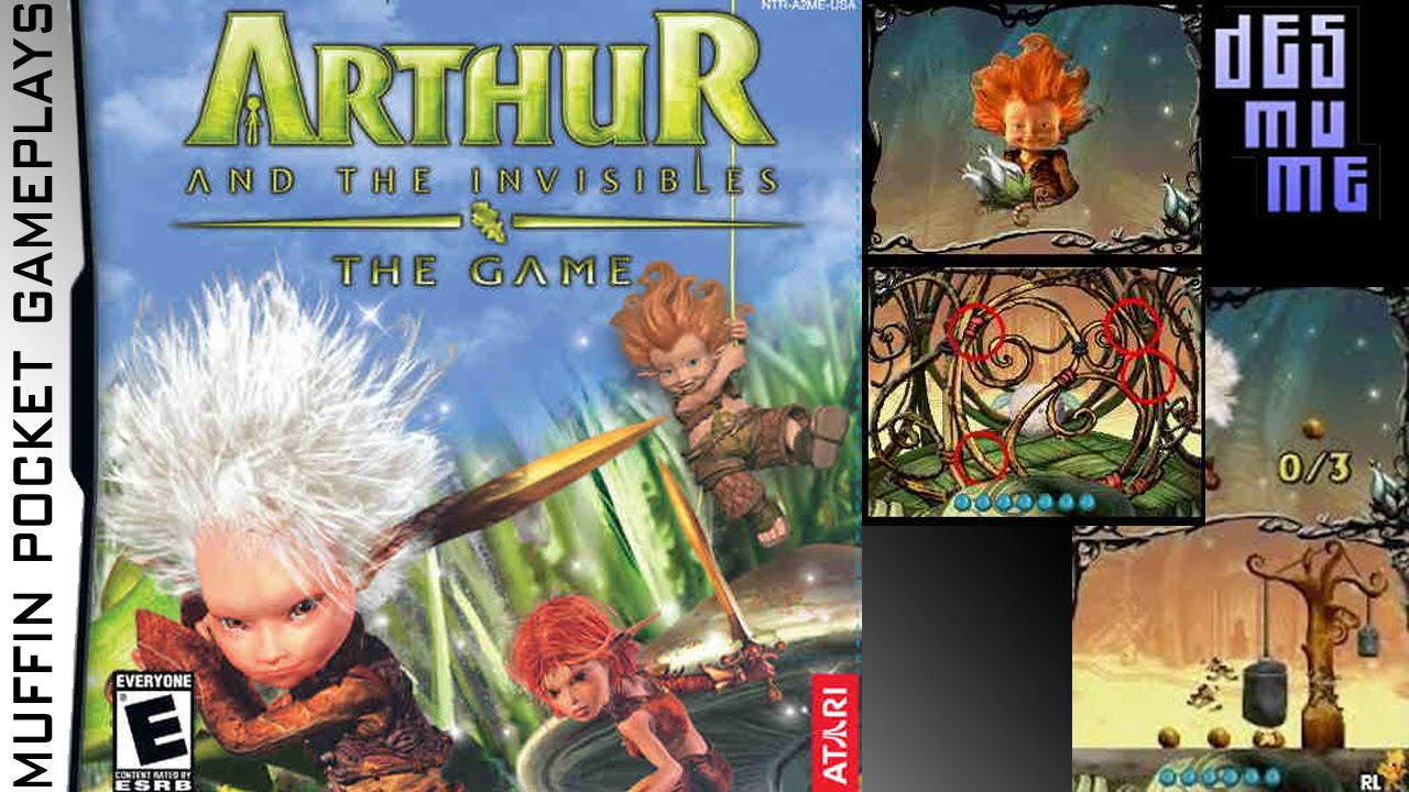 Arthur And The Invisibles The Game Desmume Gameplay Hd Youtube