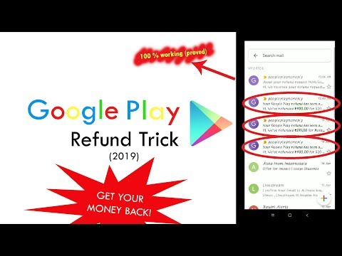 Google Play - Refund Trick (2019) | 100% Working | Free Fire | Pubg Mobile | COC | Brawl Stars