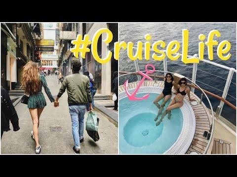 VLOG 24: ON A CRUISE SHIP! [Part 2] - Hong Kong