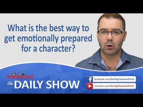LIVE NOW: Acting Classes In Perth: Daily Show - LIVE @ 7PM Everyday