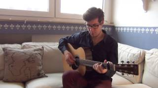 O Come All Ye Faithful/Adeste Fideles - David Senz - Acoustic Fingerstyle Guitar