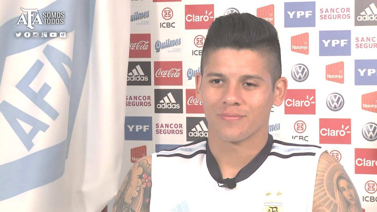 SELECCIÒN NACIONAL - Marcos Rojo palpita la Copa América - YouTube