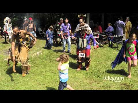 Nipmuc Nation powwow, Chief Wunnonmetah installed