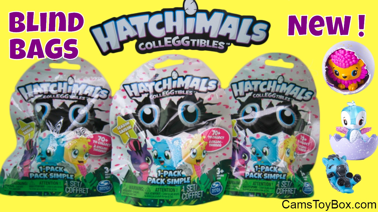 Hatchimals Blind Bags Collectibles Opening Surprise