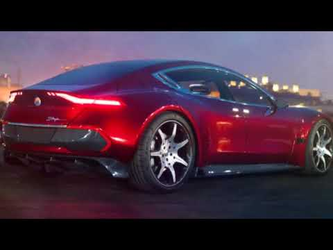 AMAZING..!!!  Fisker E-Motion interior :  unveiled at CES 2018 - Fastest Charging Electric Car