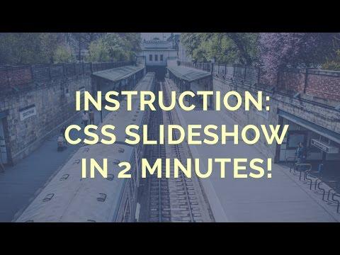 CSS Slideshow Code