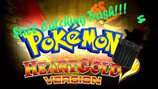 The Trash Pokemon Encounters Continue | Pokemon Heart Gold Randomizer Nuzlocke pt 4