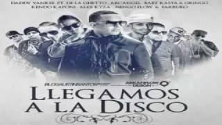 Llegamos a La Disco Daddy Yankee De La Ghetto Arcangel Baby Rasta Gringo Kendo Alex engo Farruko.wmv