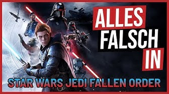 Alles falsch in STAR WARS Jedi Fallen Order 🛎️ GameSünden [SATIRE]