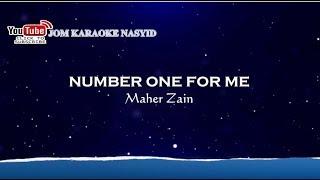 Maher Zain - Number One For Me + Karaoke Minus-One HD