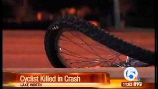 Bicyclist hit by car in Lake Worth