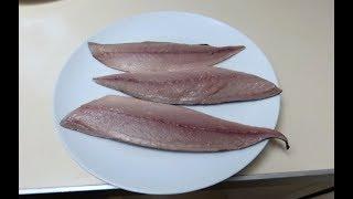 Разделка скумбрии. Как разделать скумбрию. Mackerel fish filleting