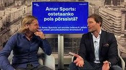 Amer Sports ostetaan mahdollisesti pois 40 euroa per osake