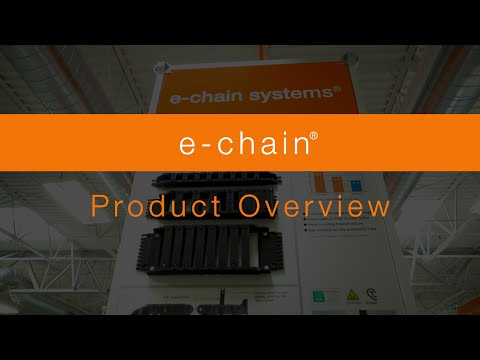 Overview - igus® energy chains types and sizes