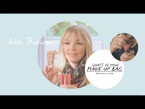 What's In Your Makeup Bag?  Kate Thornton