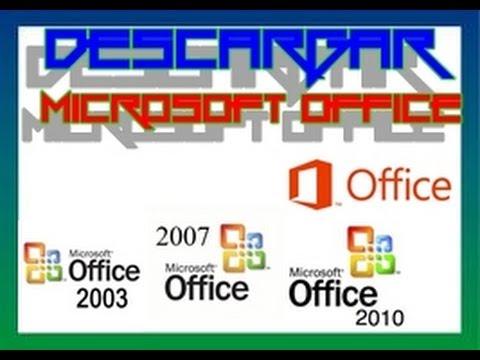 Descargar Microsoft Office 2003/2007/2010 y 2013 En 1 Link Español Full