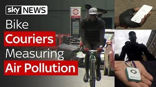 Swipe   Couriers Measuring Pollution & A Mood-Changing Wristband