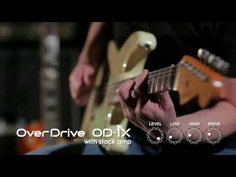 OD-1X Over Drive Sound Preview [BOSS Sound Check]