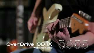 OD-1X Over Drive Sound Preview [BOSS Sound Check] Thumbnail