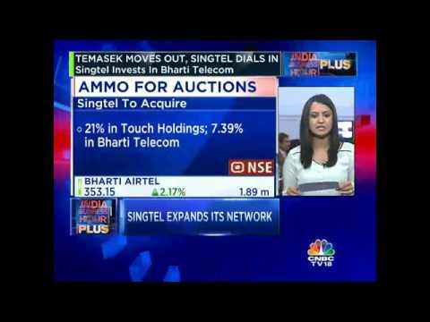 Singtel Invests In Bharti Telecom