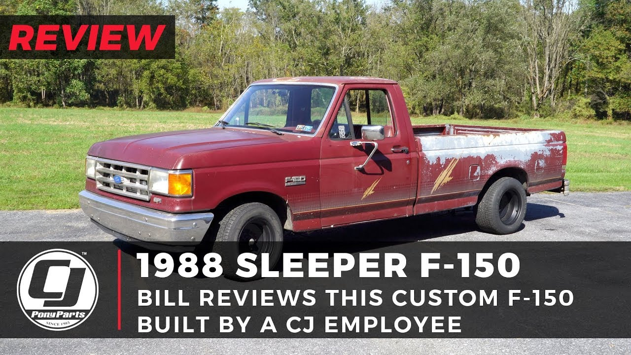 Custom Ford F-150 Sleeper Truck Review: Bill has never seen anything like  this... - YouTubeYouTube