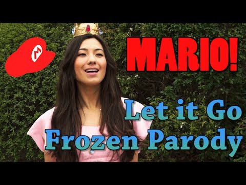 FROZEN Let it Go Parody - Princess Peach is an INDEPENDENT WOMAN | アナと雪の女王パロディ