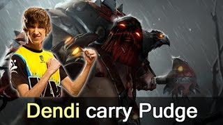 Dendi carry Pudge — NaVi vs Vega Dota 2