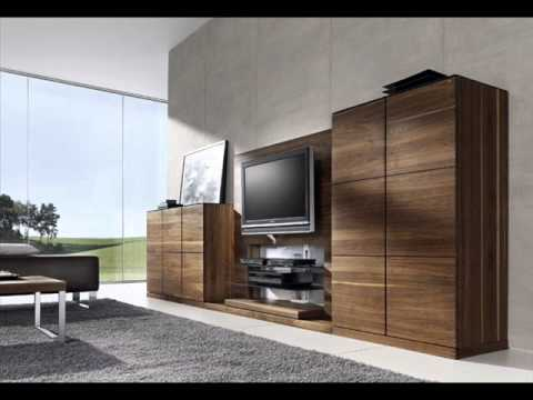 Modern living room TV furniture  YouTube