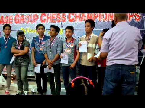 National Age Group Chess Championships 2015 - Boys under 18-20