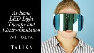 At-Home LED and Electrostimulation With Talika | Talika Genius LED Light Mask