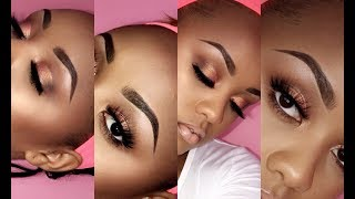 INSTAGRAM Brows Tutorial for BEGINNERS 2017
