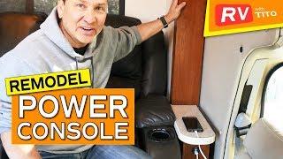 RV REMODEL - Build a Custom POWER Console