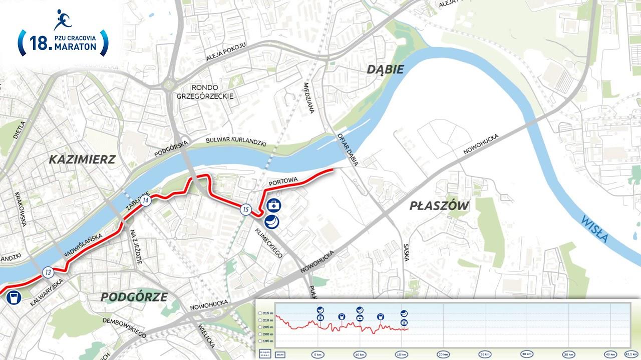 Cracovia Maraton Trasa 2019 Zobacz Jak Zostala Wyznaczona Trasa