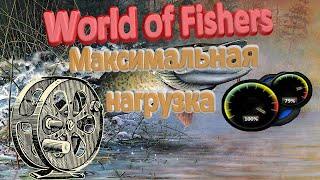 Максимальная нагрузка снасти в игре World of Fishers